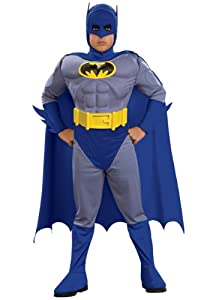 Child Deluxe Muscle Chest Batman Toddler by Rubies Costume Co. Inc