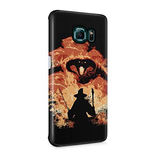 Lord Of The Rings Balrog Cs Gandalf Samsung Galaxy S6 EDGE+ Plus Hard Plastic Phone Case Cover