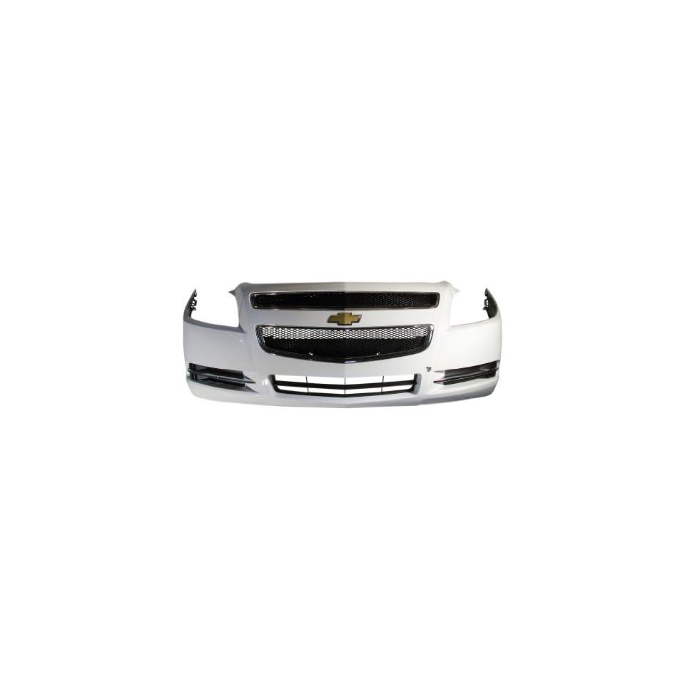 OEM 08 12 Chevrolet Malibu Front Bumper Cover Fascia Assembly w/o Fogs
