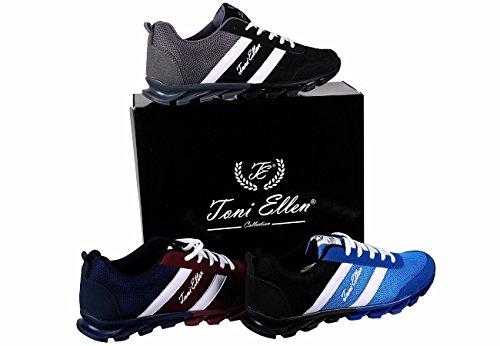 Toni Ellen Black Camel Adulti Scarpe Uomo Donna Unisex Scarpe Sneaker sportive EU 40