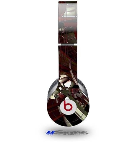 Domain Wall Decal Style Skin (Fits Beats Solo Hd Headphones - Headphones Not Included)