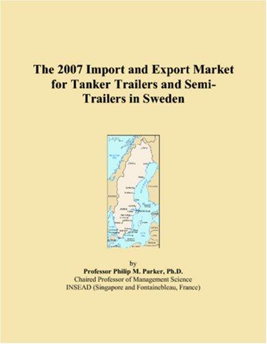 2007 进口和出口市场的唐诺挂车和半挂车在瑞典