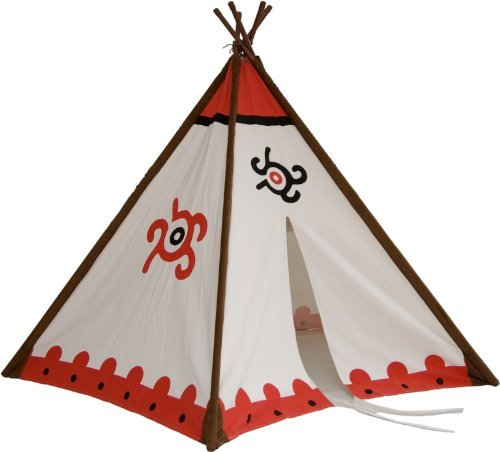 2gether Teepee, Tipi Indianerzelt für Kinder, Höhe 150 cm und Ø von 137 cm, 52052 by 2gether jetzt kaufen