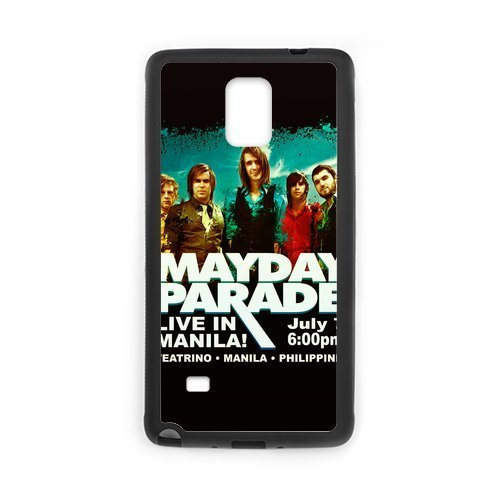 2015 New Popular Band Mayday Parade Cool Derek Sanders Design Hard Protective Back Cover Shell for SamSung Galaxy Note4 Phone (Chucky Doll For Sale Cheap)