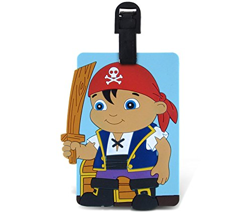 WeGlow International Fun Luggage Tag - Pirate Kid