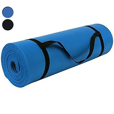 Songmics Yogamatte Gymnastikmatte Extra-dick und Weich, Maße: 185 x 80 x 1,5 cm, In 3 Farben Auswählbar