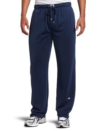 New Balance Men's Lounge Pant, Denim, Small