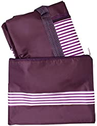 Multi Function Bag For Gym Daily Utility Duffle Shape By Snoogg Maroon Colour