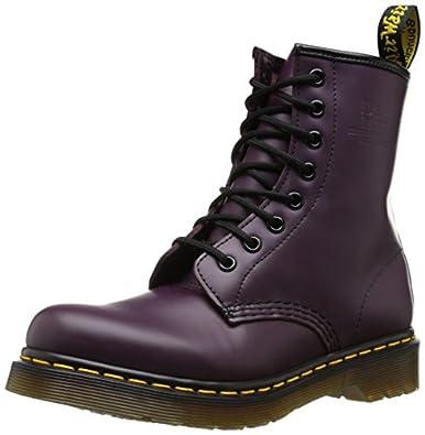Dr. Martens 1460 Smooth 59 Last Purple 10072501, Damen Stiefel, Violett (purple), EU 42
