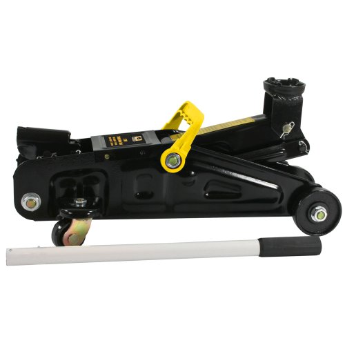 Best Review Of Black Bull FJ2 4000 lbs. Capacity 2 Ton Trolley Floor Jack