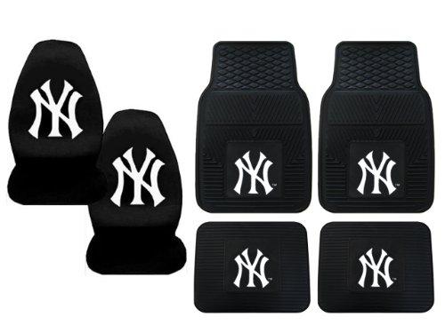 NEW YORK YANKEES CAR SEAT COVERS : NEW YORK YANKEES