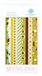 Martha Stewart Crafts Paper Borders 6'' X 12'' Woodland Critters By The Package