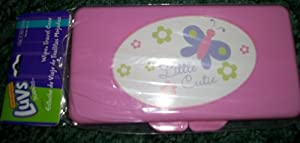 Kidjets Wipe Travel Case (all pink but maybe different designs)