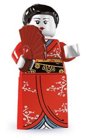 LEGO 8804 - Sammelfigur Kimono Mädchen aus Serie 4