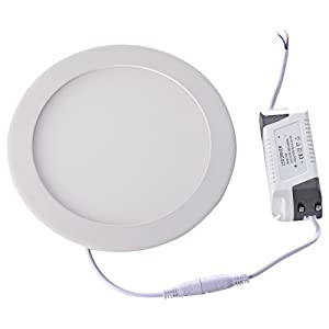Mudder 15W 2835 SMD LED Warm White Light Round Recessed Ceiling Panel Down Lamp