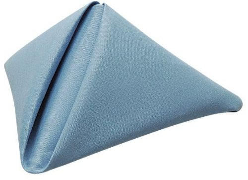 Phoenix 18 By 18-Inch Napkins, Wedgewood Blue, Package Of 12 front-395912
