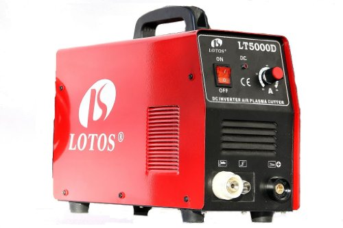 "LT5000D Lotos LT5000D 50A Air Inverter Plasma Cutter Dual Voltage 110/220VAC 1/2"" clean Cut (Special offer by this weekend)"