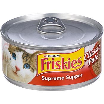 Friskies Chicken, Liver And Fish Canned Cat Food
