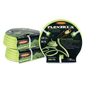 Legacy HFZ3850YW2 Flexzilla 3/8 by 50 Zilla Green Air Hose with 1/4 Ends by Legacy Manufacturing Company