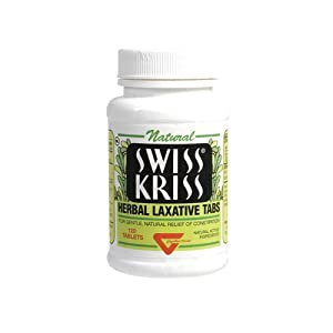 Modern Natural Products Swiss Kriss Herbal Laxative Tablets - 120 Each, 1 Pack