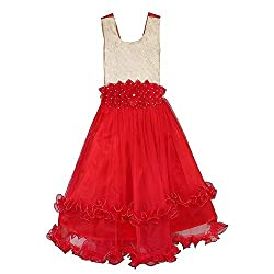 SEMTEX RED FLOWER FROCK