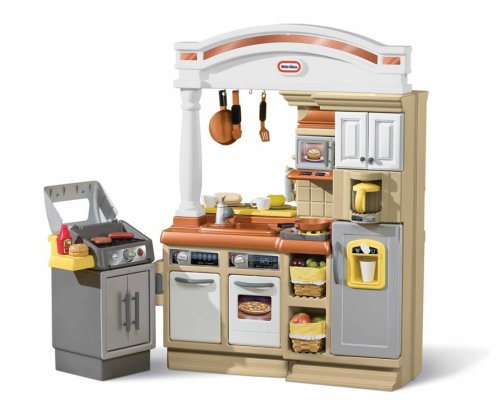 Little tikes sizzle n serve kitchen mycoolmall for Small kids kitchen