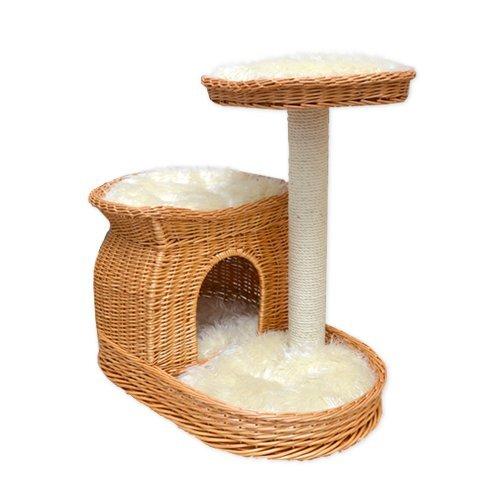 arbre chat osier. Black Bedroom Furniture Sets. Home Design Ideas