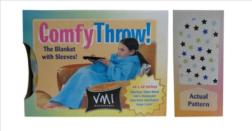 Vmi Kids Comfy Throw, Stars front-396649