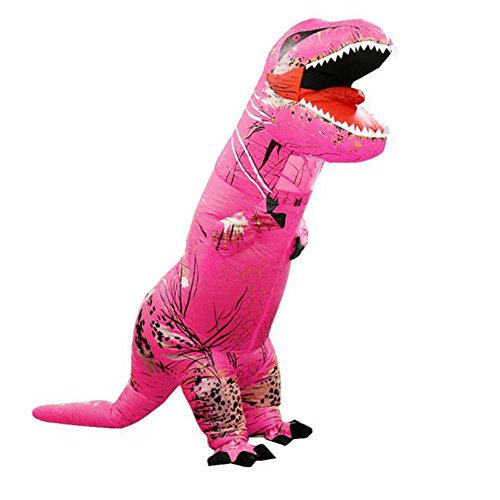 [Creative Alizzee T-Rex Inflatable Costume, Adult Dinosaur Costume Inflatable] (Creative Cow Costumes)