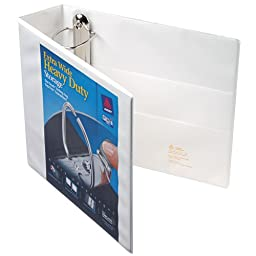 Avery Heavy Duty Nonstick View Binder w/Locking One Touch EZD Rings, 3\