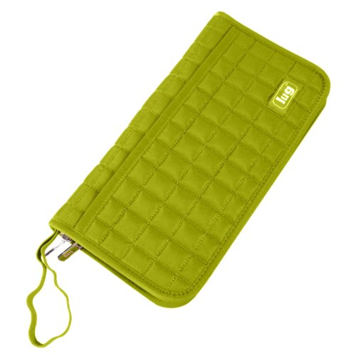 Lug Ticket Tango Travel Wallet- Airport & airline approved, different colors, Grass Green