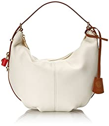 Vince Camuto Tate Wristlet Shoulder Bag, White/Cuoio, One Size