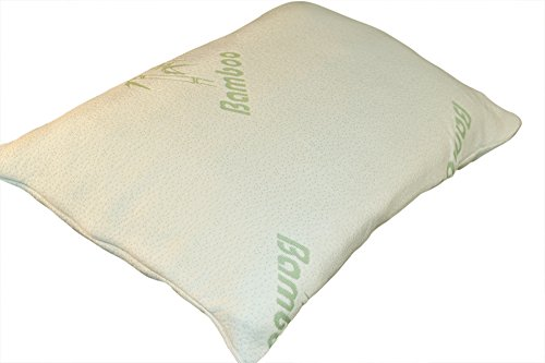 Slumber Max: Shredded Memory Foam Pillow with Bamboo Cover. Standard Size, Hotel Quality Soft Memory Foam, Stay Cool Bamboo Cover, Perfect For Back or Side Sleepers (Delta Downs Hotel compare prices)