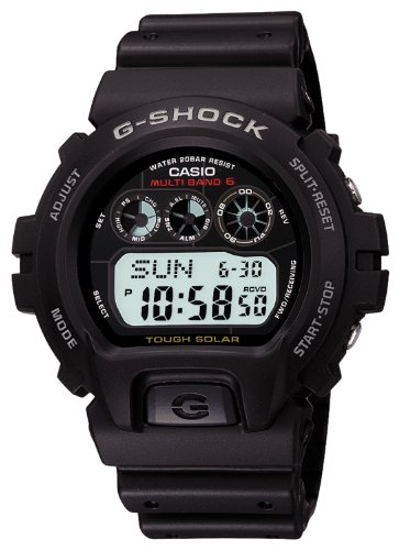 CASIO G-SHOCK STANDARD Tough Solar Radio Controlled MULTIBAND6 GW-6900-1JF (Japan Import) Reviews