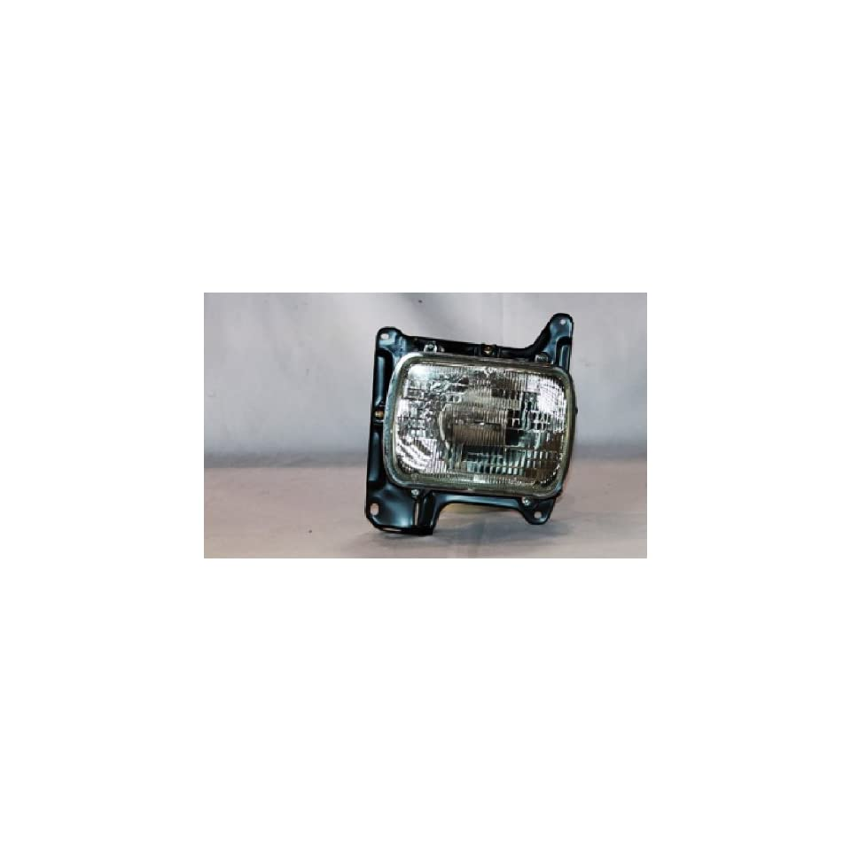 NISSAN VAN/PU NISSAN PICK UP LAMP HOUSING RIGHT (PASSENGER SIDE)(WITHOUT SEALED BEAM) 1986 1995