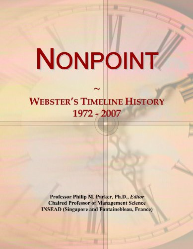 Nonpoint: Webster's Timeline History, 1972 - 2007