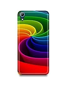 Colorful Lines HTC 626 Case