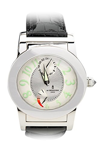 de-grisogono-instrumento-tondo-automatic-gmt-with-power-reserve-white-dial