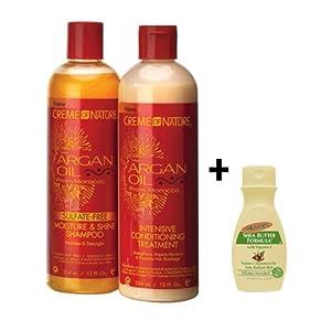 Creme of Nature Argan Oil Moisture Shine Shampoo and Treatment Set