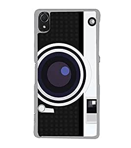 Vintage Camera 2D Hard Polycarbonate Designer Back Case Cover for Sony Xperia Z3 :: Sony Xperia Z3 Dual :: Sony Xperia Z3 D6633