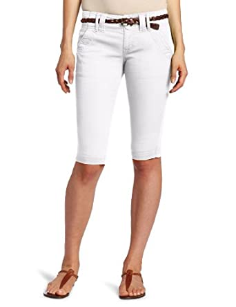 Sanctuary Clothing Women's Scout Knicker Pant, White, 24