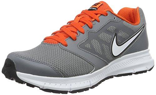 Nike Downshifter 6 Scarpe da corsa, Uomo, Grigio (Cl Gry/Mtlc Pltnm-Tm Orng-Whit), 41