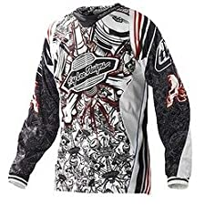 Troy Lee Designs SE Pistonbone Jersey - Large/White