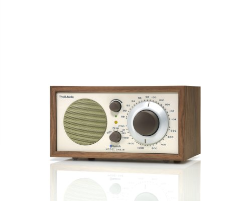 Tivoli Audio M1BTCLA Bluetooth AM/FM Radio (Walnut/Beige) (Tivoli Model One compare prices)