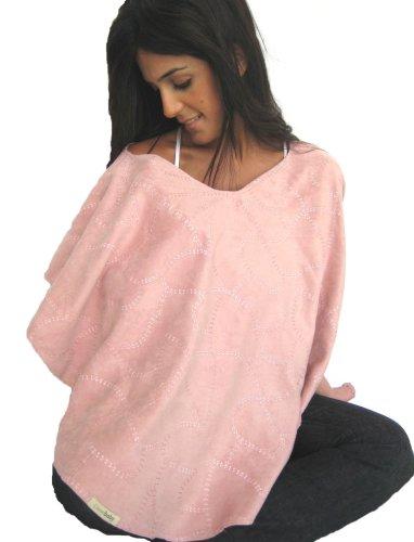 L'oved Baby Nursing Shawl (Think Pink)