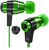High Definition Stereo Earphones with microphone Equipped with two 9mm high fidelity drivers, unique sound performance, well-balanced bass, mids and trebble. Designed specially for those who enjoy classic music, rock music, pop music, or gami...