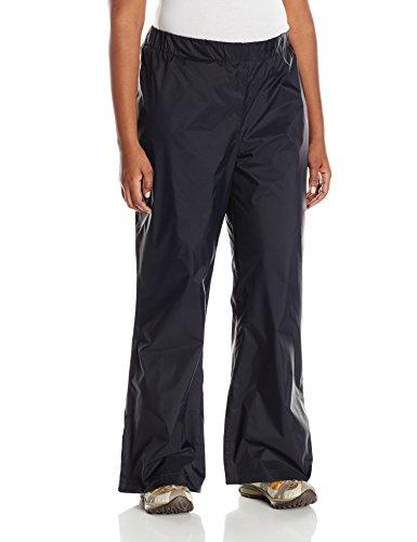 Columbia Women's Plus-Size Storm Surge Pant, Black, 1X (Women Rain Pants compare prices)