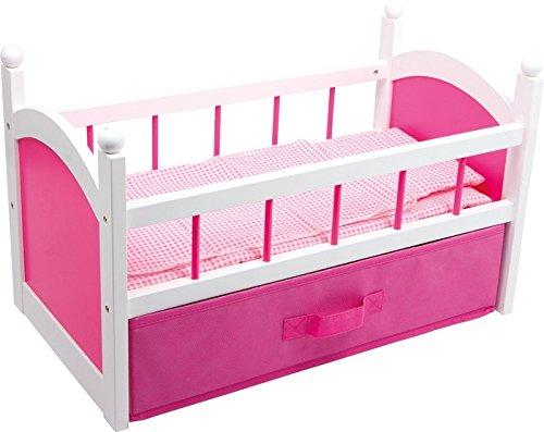 Puppenmöbel Puppenbett pink