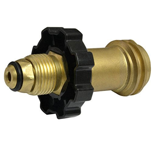 Onlyfire Universal Fit Propane Tank Adapters POL to QCC1 Wrench to Hand Tighten Old to New Style (Propane Bottle Connector And Hose compare prices)
