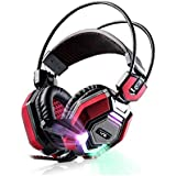 Darkiron N5000 2015 New 3.5mm Over Ear Stereo Gaming Headset With In-line Wheel Control For Volume And Mic Perfect...